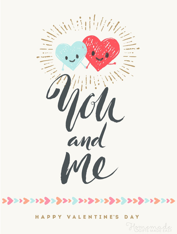 happy valentines day images you and me 600x791