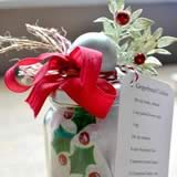holiday gift ideas for women apron in a jar