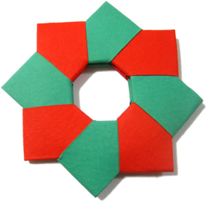 easy to make christmas decorations paper wreaths 8