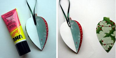 homemade christmas ornaments to make materials