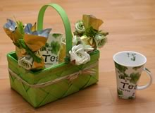 homemade gift basket ideas tea time