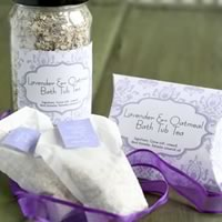 oatmeal bath homemade gift idea