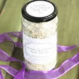 homemade gifts in a jar oatmeal lavender tub tea