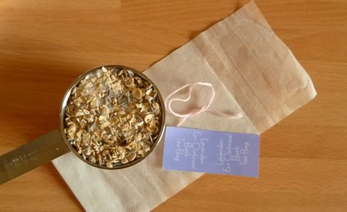 homemade oatmeal bath tea recipe