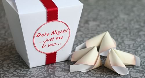 homemade romantic gift
