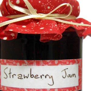 homemade food gifts strawberry jam