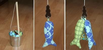 homemade toddler toys magnet fishing game