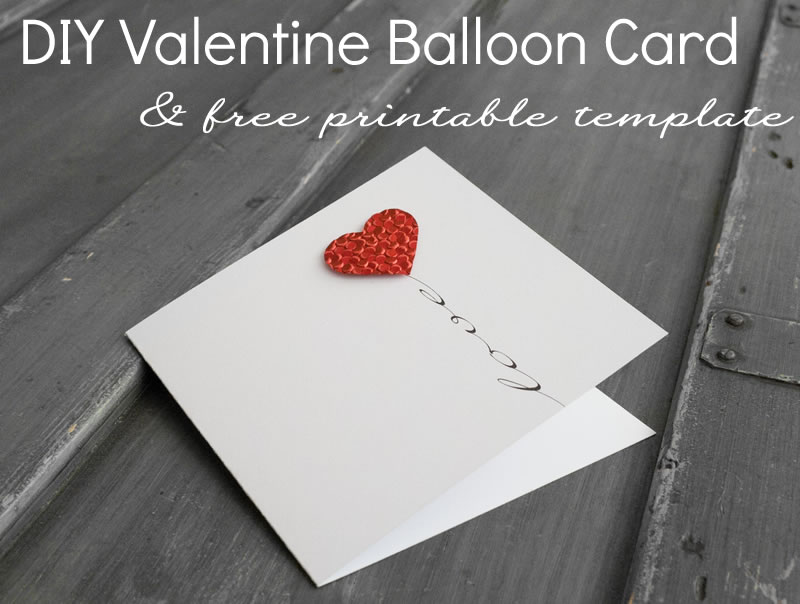 Homemade Valentine Card – Cute Valentine Card Ideas for Him