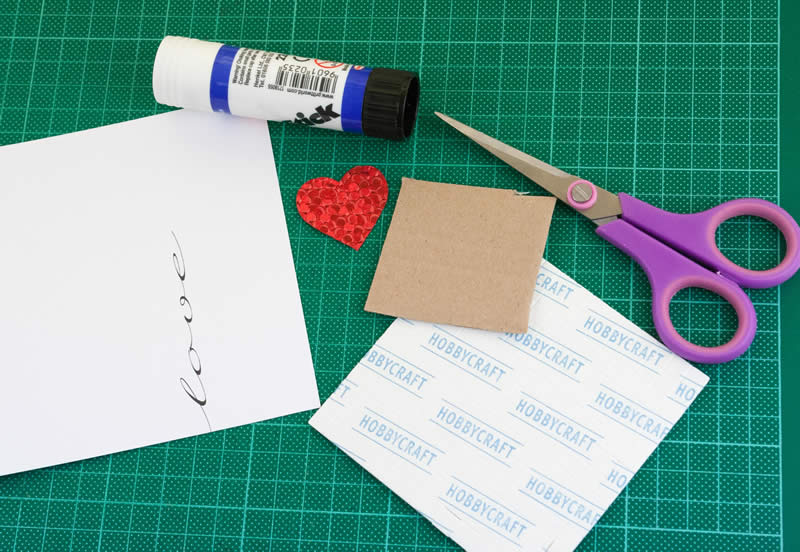 homemade valentine card heart balloon printable