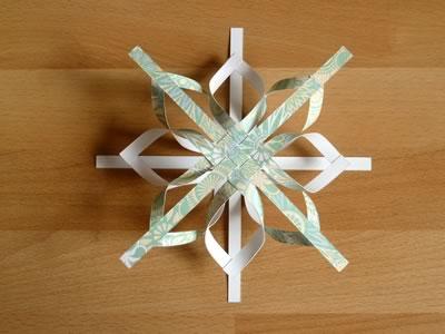 How To Make A Star Christmas Tree Ornament Step By Step