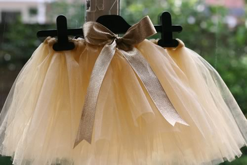 how to make a tutu with bow