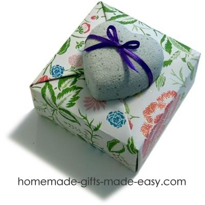 how to make bath bombs with box