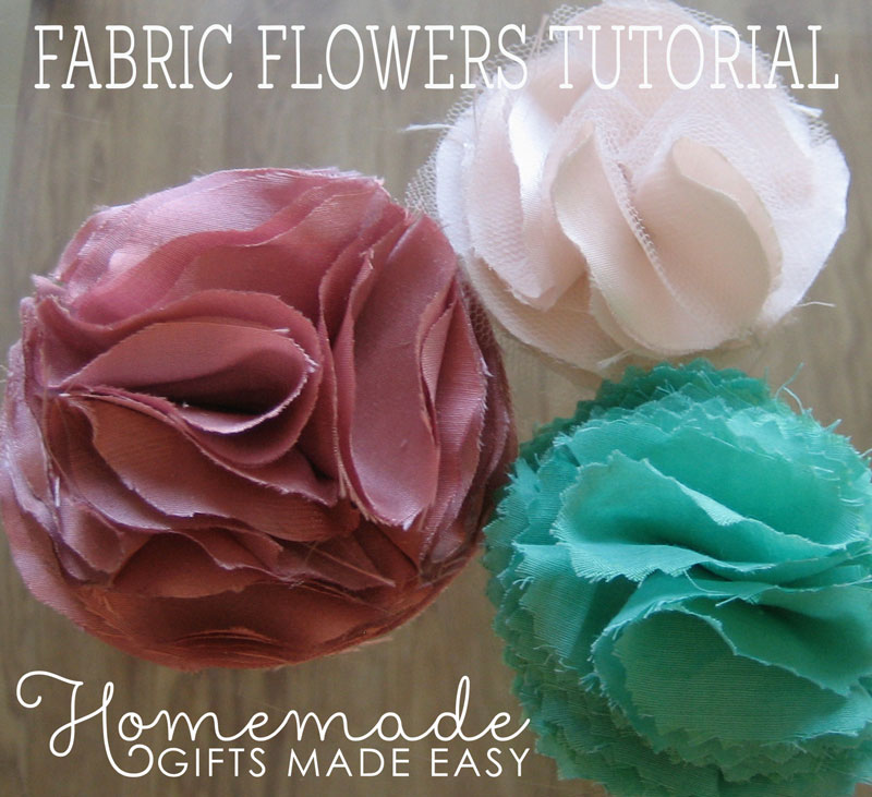 Making Fabric Flowers Wedding: How To Make Fabric Flowers