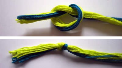 how to make friendship bracelets braiding knot 1