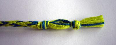 how to make friendship bracelets braiding step 6