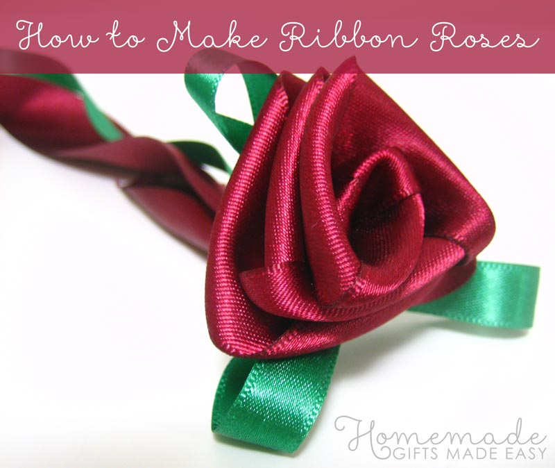 How to DIY Easy Ribbon Flower Bow | 674x800