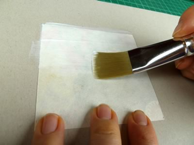 how to make tile coasters glue paper