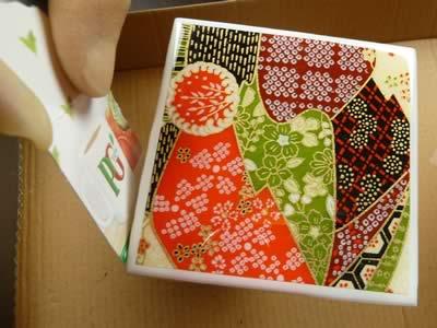 how to make tile coasters epoxy around edges