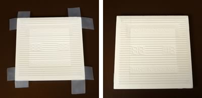 tape base of tile coasters