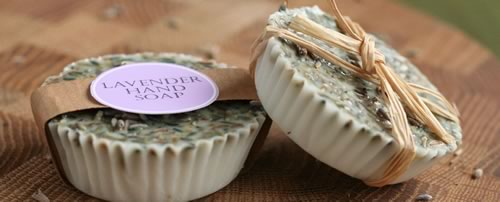 lavender soap recipe round soap