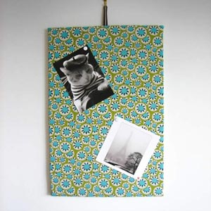 homemade birthday gifts make a bulletin board