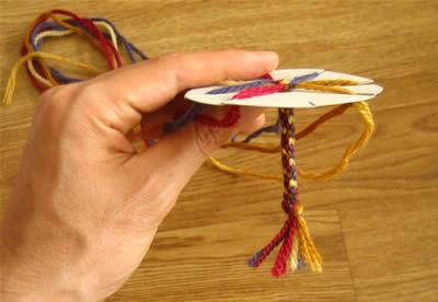 make a friendship bracelet step 4e