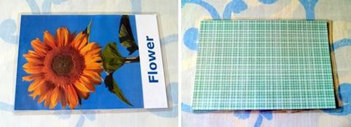 make flash cards baby toddler