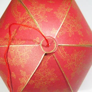 paper lantern christmas decorations