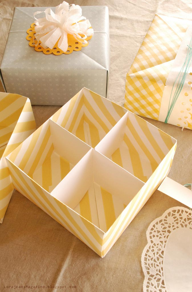 Make Your Own Gifts Make your own gift box with lid video tutorial picture instructions origami gift box from wallpaper sisterspd