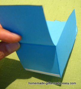 making gift boxes step 3