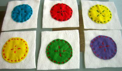making soft blocks circles