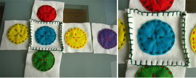 making soft blocks sewing