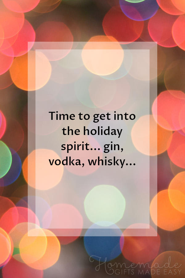 merry christmas images funny spirit gin 600x900