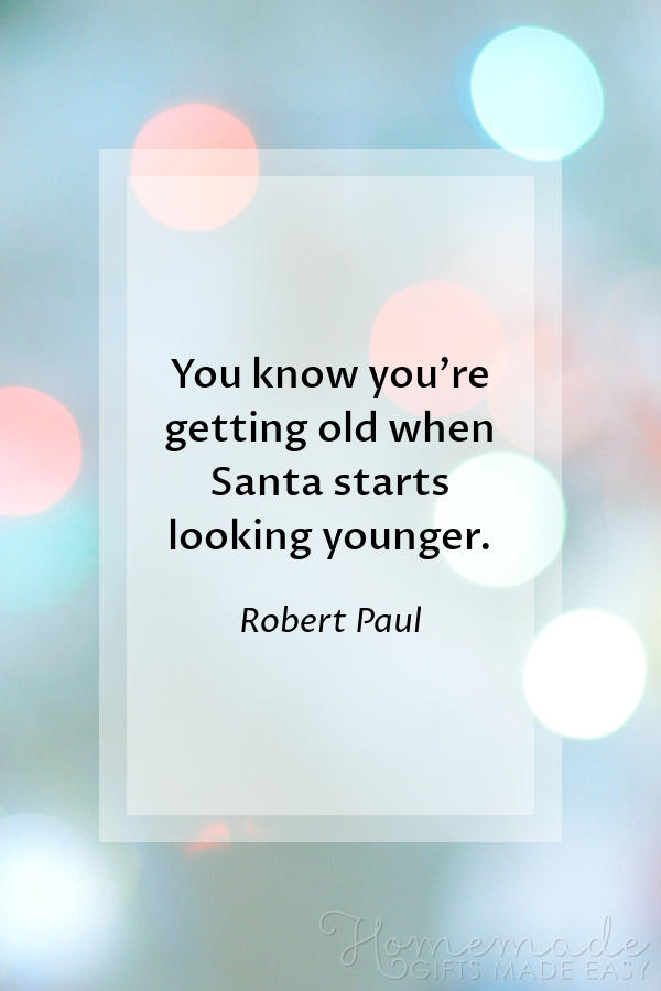 merry christmas images santa looking younger 600x900