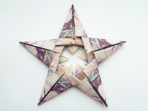 Fold a Money Origami Star from a Dollar Bill - Step by Step ... | 375x500