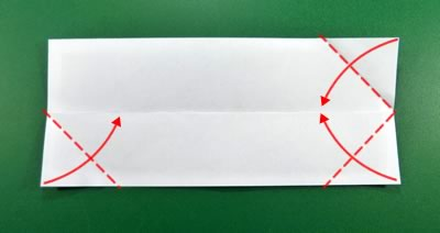 modular money origami star step 2