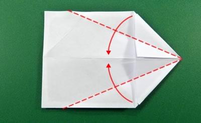 modular money origami star step 5