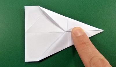 modular money origami star step 5b