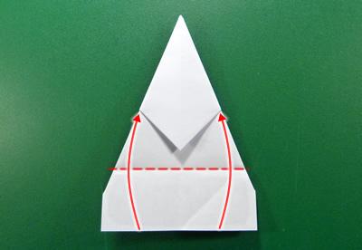 modular money origami star step 6