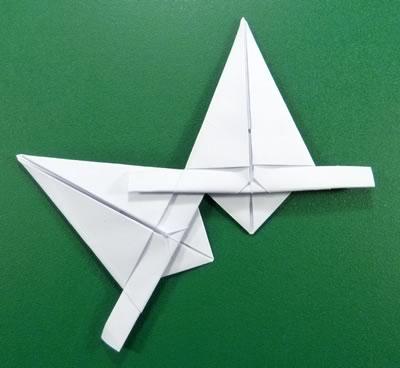 modular-money origami star step 7d