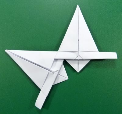 modular-money origami star step 7d