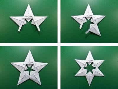 Corona Grande Star by Maria Sinayskaya — Diagram | Go Origami | 302x400