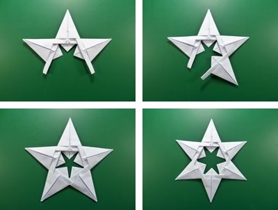 modular-money origami star step 8
