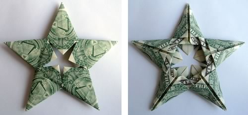 modular-money origami star step 9c