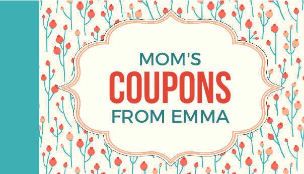 mothers day coupons cover to download and print