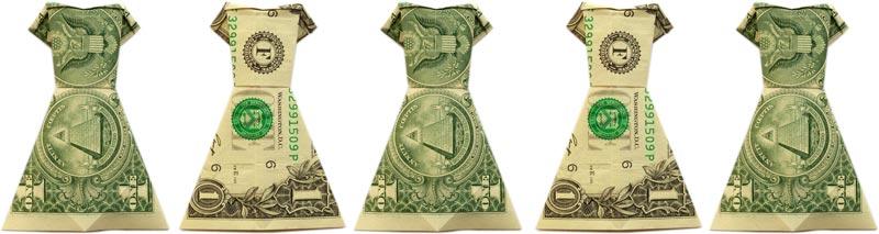 Dollar Origami Shirt & Pants - Make a Dollar Bill Pant Suit ... | 213x800