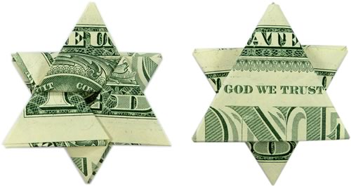 Fold A Money Origami Star From A Dollar Bill Step By Step Instructions