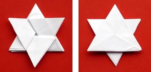 Money Origami Star Finished