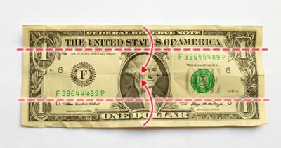 Money Origami Fish Instructions | How to Fold a Dollar Bill Fish ... | 211x400