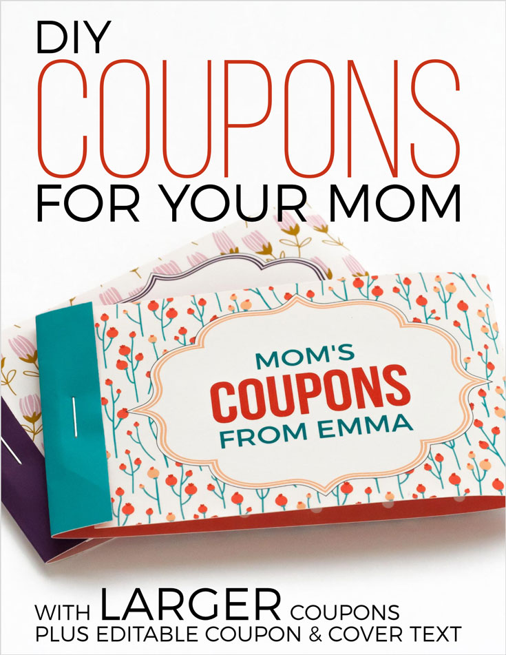 mothers day coupon maker